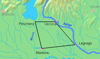 Quadrilatero defensive system of the Austrian Empire