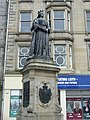 Queen Victoria statue, foot of Leith Walk - geograph.org.uk - 1536730.jpg