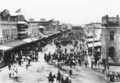 Queensland State Archives 3388 Procession in Flinders Street Townsville 1888.png