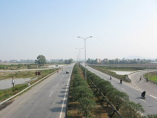 National Route 1A (Vietnam) road in Vietnam