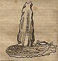 Rävsal runestone, Bo Krause1966;70.jpg