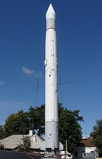 R-5 Pobeda 1956 theater ballistic missile of the Soviet Strategic Rocket Forces