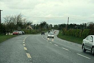 R406 road (Ireland) - R406 in north County Kildare