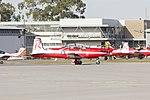 RAAF (A23-057) Pilatus PC-9A taxiing at Wagga Wagga Airport 1.jpg