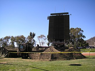 Radiodetermination - Radiolocation service, AN/TPS-77 3D radar of the Royal Australian Air Force