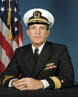 Thomas Lynch (admiral) - Image: RADM T C Lynch 1987