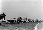 RAF Debden - 8th Fighter Command P-51D Mustangs on Line.jpg