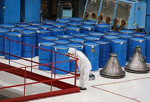 Uranium dioxide - Image: RIAN archive 132609 Uranium dioxide fuel pellet starting material