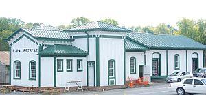 Rural Retreat, Virginia - Former railroad depot
