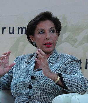 Raghida Dergham - Dergham at the Halifax International Security Forum in 2012