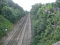 Railway tracks at Malvern Link - geograph.org.uk - 889634.jpg
