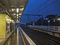 Rainy evening at Engadine Station 04.jpg