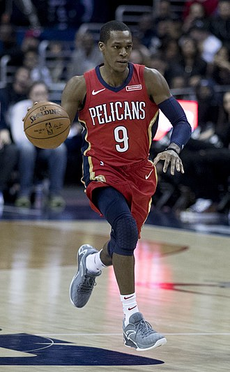 Rajon Rondo - Rondo with New Orleans in 2017