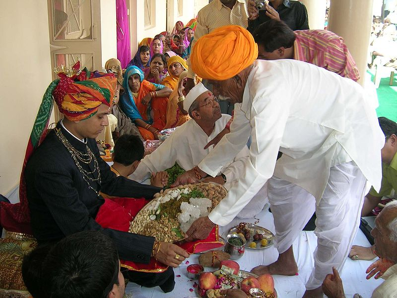File:Rajput wedding feast.jpg