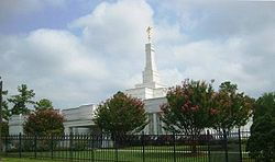 Templo de Raleigh, na Carolina do Norte.
