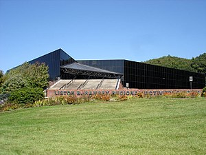 Ramsey Center - Image: Ramsey Regional Activity Center in Cullowhee, NC
