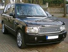 Range Rover L322 Wikipedia
