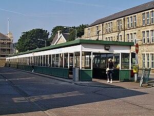 Rawtenstall - Rawtenstall bus station, September 2008