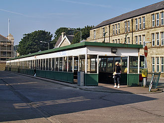 Rawtenstall - Rawtenstall bus station, September 2008