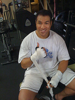 Ray Sefo New Zealanders kickboxer, boxer and mixed martial arts fighter