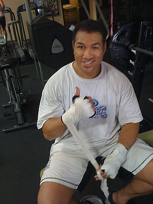 Ray Sefo - Image: Ray Sefo Xtreme Couture