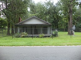 Ray Charles Childhood Home, Greenville.JPG