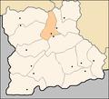 Razlog Municipality Blagoevgrad Oblast map.png