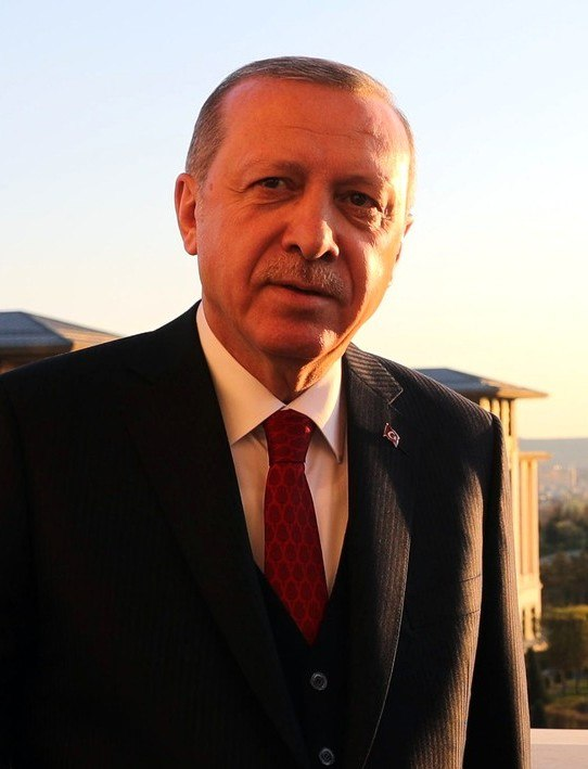 Recep Tayyip Erdoğan, 2018 (cropped)