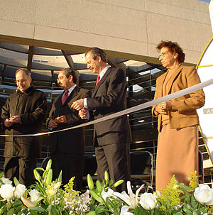 University of Monterrey - Inauguration of the Rector's Building.