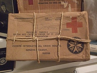 British Red Cross - British Red Cross parcel