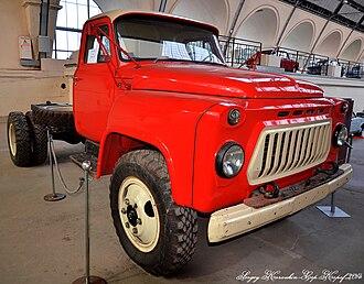 GAZ-53 - GAZ-53 truck