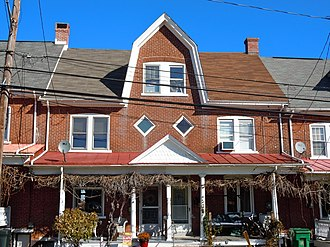 Red Hill, Pennsylvania - House in the historic district