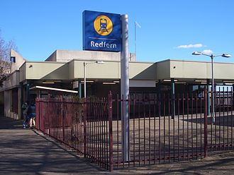 Redfern railway station - Gibbons Street entrance
