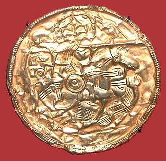 Alemanni - Image: Reiterscheibe von Pliezhausen v 2