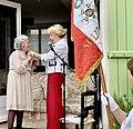 Remise de la légion d'honneur de Bernadette Després, par Mme Monique Bévière à Givraines le 28 août 2021.jpg