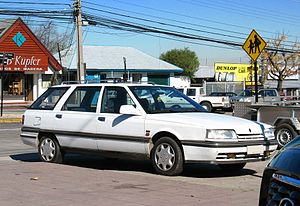 Renault 21 - 1993 Manager Nevada