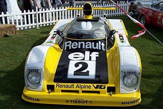 1975 World Sportscar Championship - Image: Renault Alpine V6