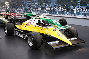 1983 FIA Formula One World Championship - Renault placed second with the RE40