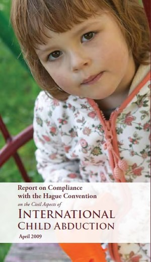 United States Hague Abduction Convention Compliance Reports - 2009 Report Cover