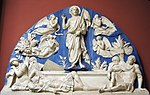 Resurrection by Luca della Robbia from N. Sacristia of S. Maria del Fiore (casting in Pushkin museum) by shakko 01.jpg