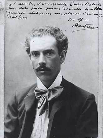 Prudenci Bertrana - Portrait of Prudenci Bertrana