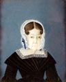 Retrato de D. Maria Bárbara do Vadre d'Almeida Castello Branco, 1.ª Baronesa e 1.ª Viscondessa d'Andaluz - por Maria José de Sousa Vadre Santa Marta Mesquita e Mello.png