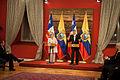 Reunión con la prensa entre la Presidenta Michelle Bachelet Y El Presidente Rafael Correa (13994769110).jpg