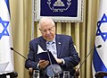 Reuven Rivlin receives the report of the Public Committee to Examine the Elections Law, November 2017 (0594).jpg