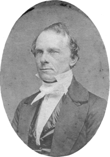 Richard Falley Cleveland American minister, father of Grover Cleveland