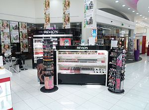 Revlon - Revlon counter in New Zealand department store Farmers