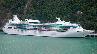 Vision-class cruise ship - Image: Rhapsody of the Seas Skagway, AK (cropped)