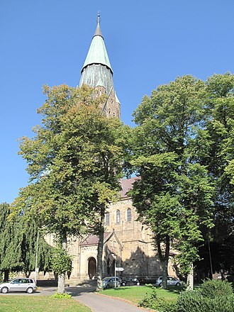Rheine - Image: Rheine, Basilika katholische Pfarrkirche Sankt Antonius Dm 28 foto 2 2013 09 30 14.54