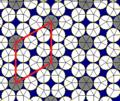 Rhombitrihexagonal tiling circle packing2.png