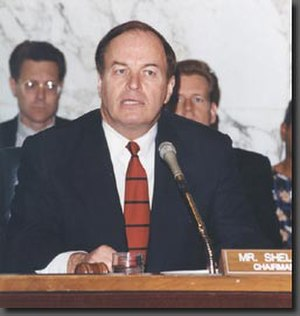 Richard Shelby - Senator Shelby as Chairman of the Senate Committee on Banking, Housing and Urban Affairs